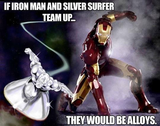 Iron Man Silver Surfer Alloys