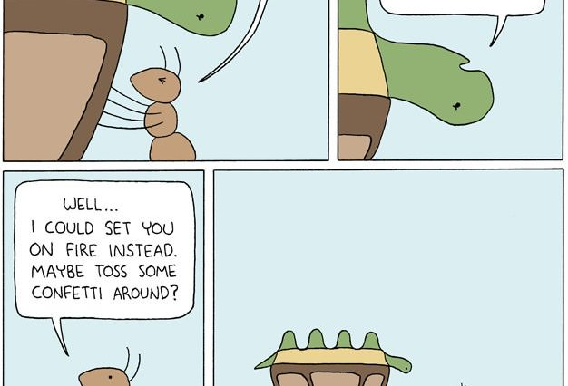 Turtle Ant Confetti Died