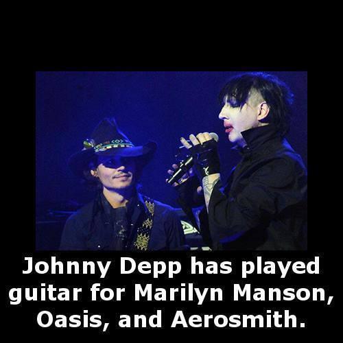 Johnny Depp guitar cover