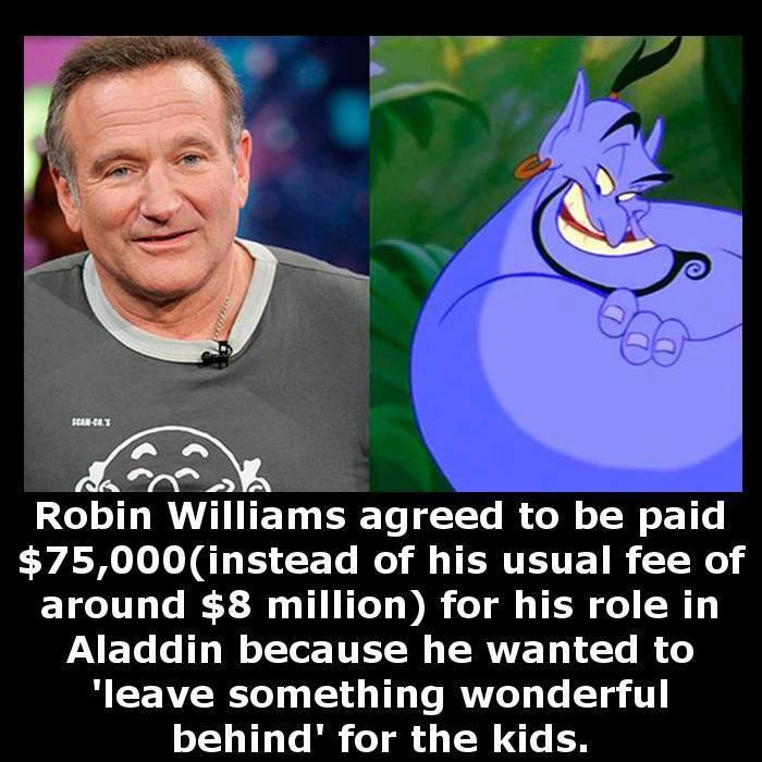 Robin williams genie