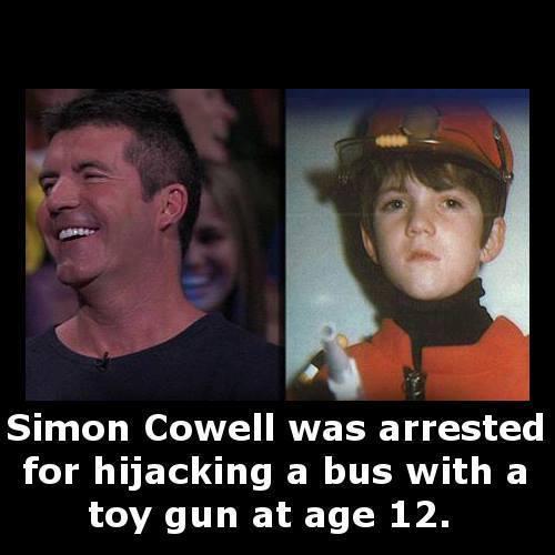 Simo Cowell bus robber