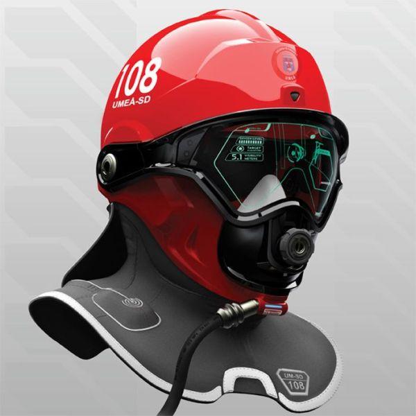 advanced firefighter helmet
