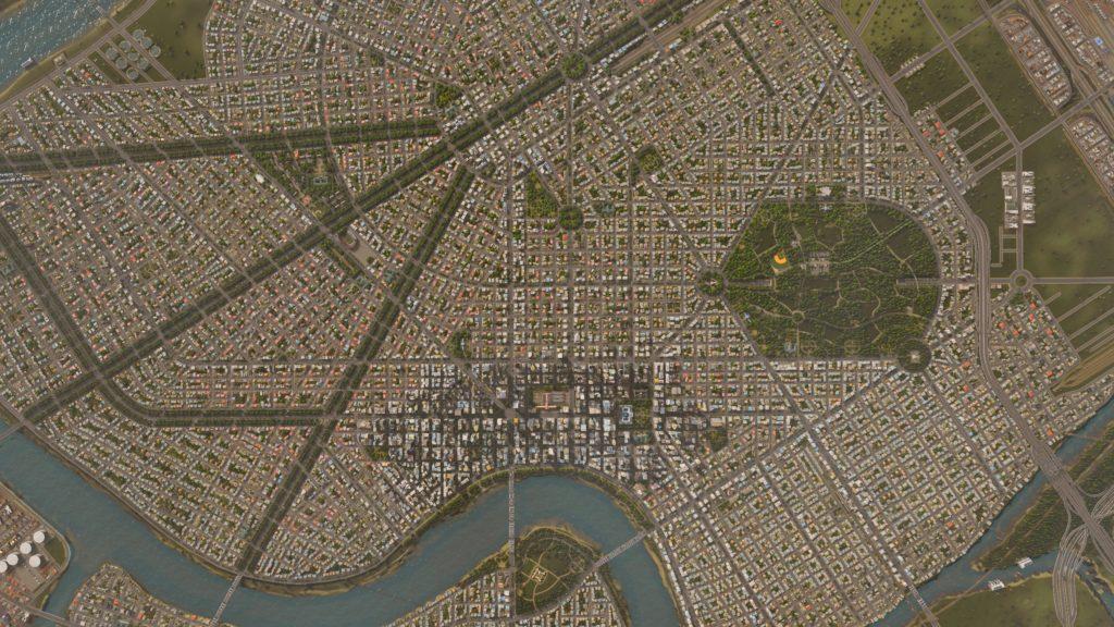 city map of Houston
