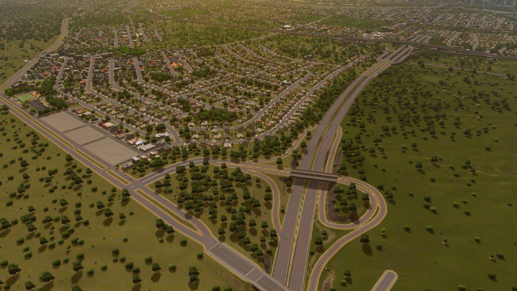 freeway exit expansion