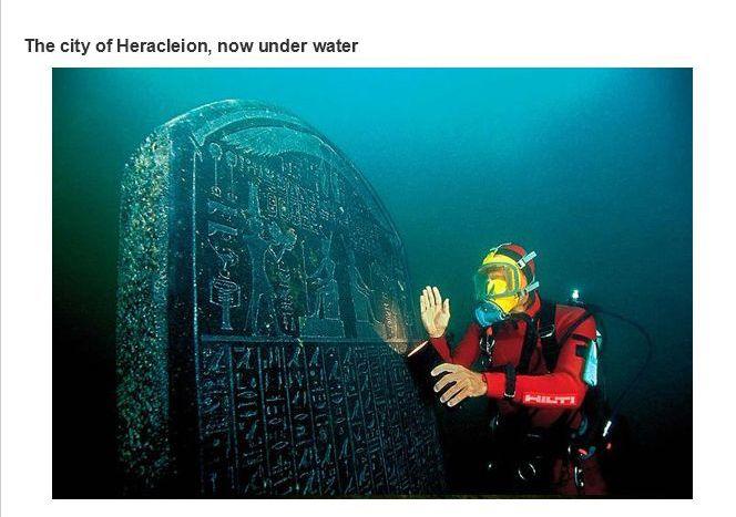 heracleion underwater
