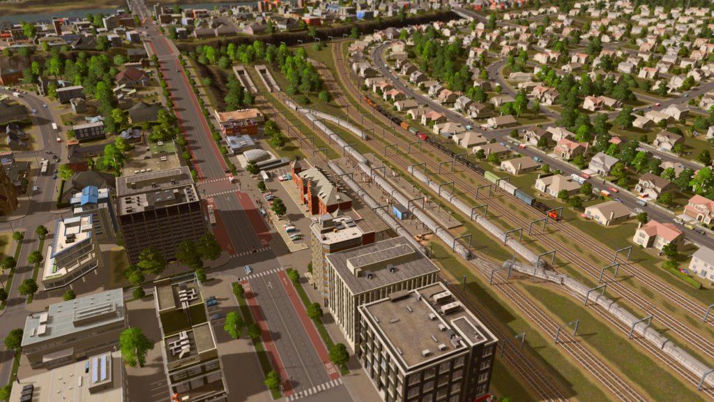 intercity train station