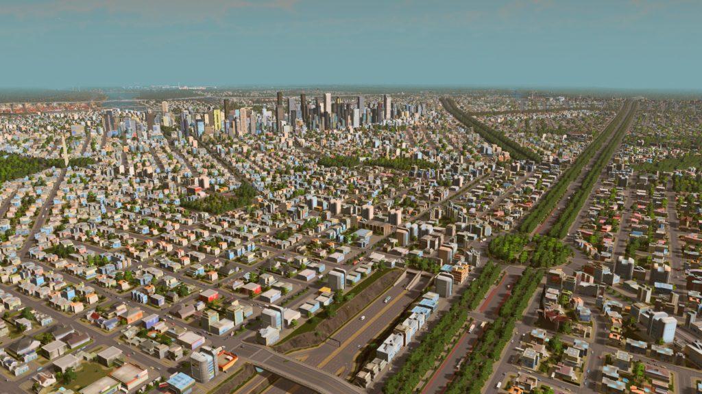 large city cimulation