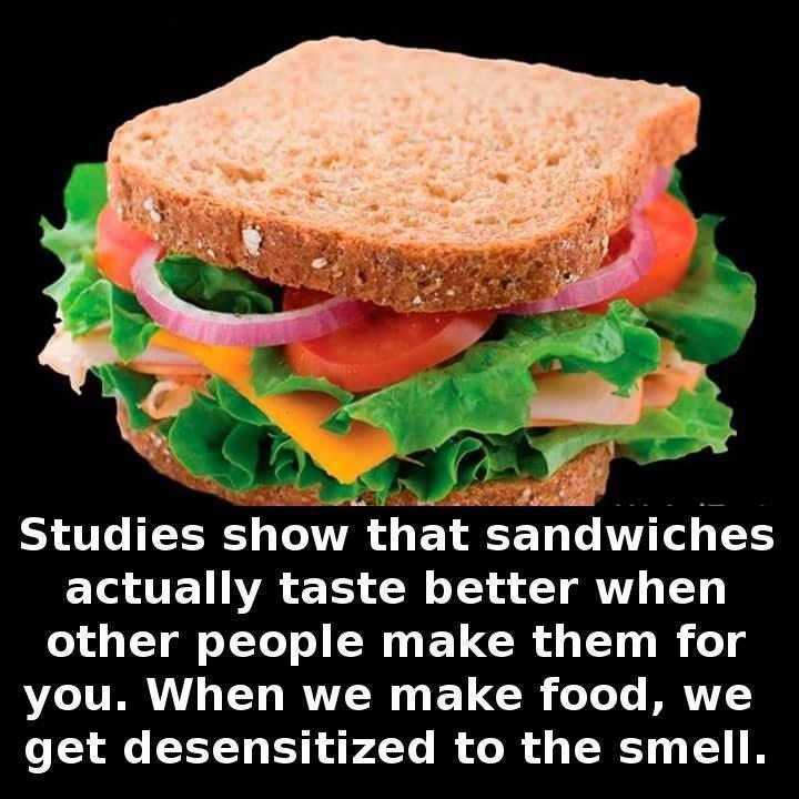 sandwich smell