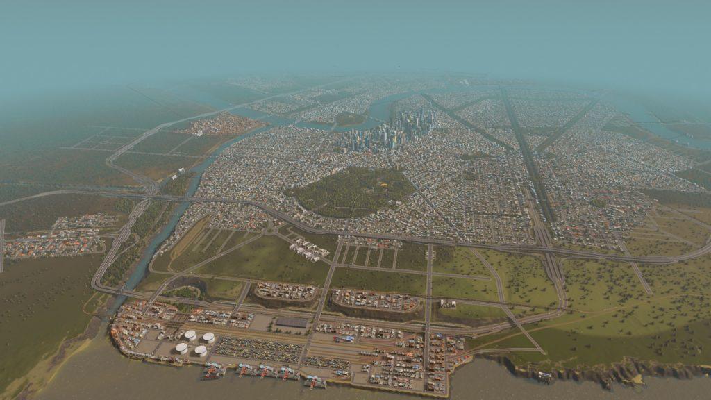 sim city skyline