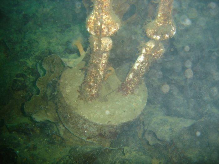 underwater artifacts