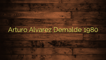 Arturo Alvarez Demalde 1980