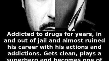 Robert Downey Jr facts