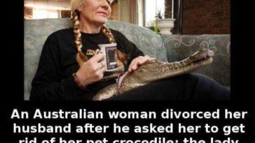 crocodile lady