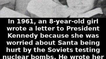 Kennedy Santa letter