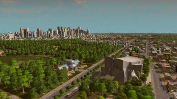 large city park