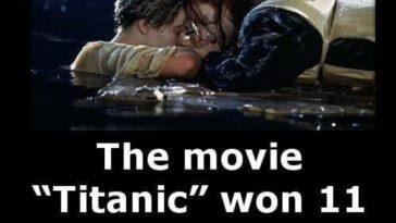 Titanic award facts