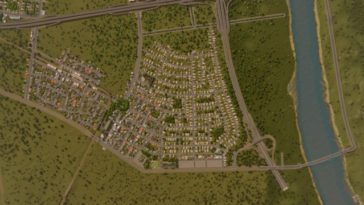 suburb street map