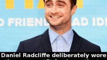 Daniel Radcliffe clothes