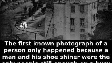 first human photo