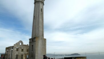 lighthouse on Alcatraz