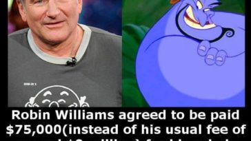 Robin williams genie
