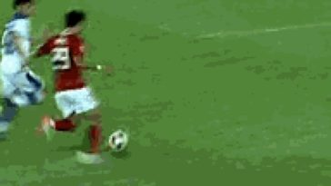 Soccer Players Going to Ground